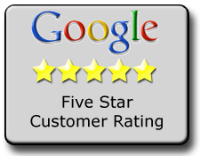Carefree AC repair service reviewed 5 stars on Google.