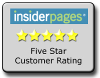 Carefree AC repair service reviewed 5 stars on Insiderpages.