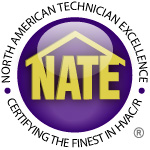 Heating and Air Conditioning Repairs Using NATE certified ac repair technicians.