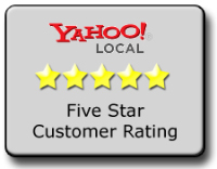 5 star reviewed by yahoo! Local